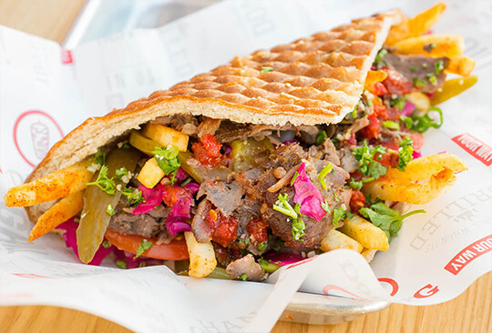 Order Turkish Food Online, Fladenbrot
